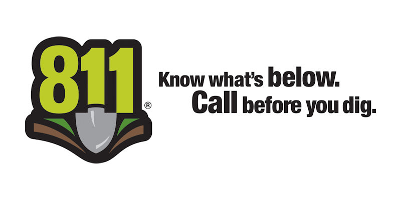 Call Before You Dig - Dial 811